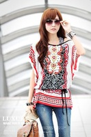 free shipping new 2014 sexy girl fashion design with the belt clothing set sexy lace shirt casual ice silk women blouses chiffon