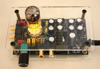 Little Bear stereo 6N3 HiFi tube valve Preamp Preamplifier amplifier 110V/220V