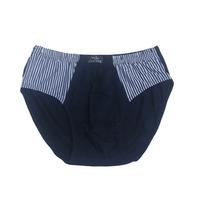 Male 100% cotton panties high waist shorts trigonometric 100% cotton sweat absorbing breathable panties belts comfortable 100%