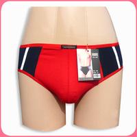 Free shipping 686 100% cotton mid waist fashion male triangle panties shorts 6.9