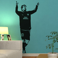 Free Shipping High quality Carved(not print) wall decor decals home stickers art PVC vinyl FOOTBALL  Z-82