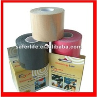 10% off 300roll a lot Free Shipment factory offer Assort colors sports 5cm x 5m therapeutic sports kinesio tape