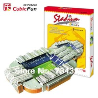 3D paper model puzzles adult fans of children's educational toys DIY 3D puzzle famous Old Trafford home team