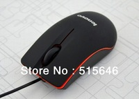 Free Shipping Mouse 2014 New Arrival Hot Sale Optical Mouse 1000 DPI USB Wired Gaming Mouse For Desktop Laptop Black computer