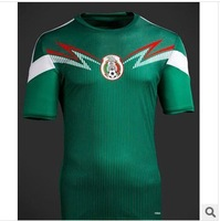 Free Shipping The 2014 World Cup/Thai Quality 13-14 Mexico National Soccer Clothes Jerseys ZQ8