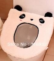P2 Soft plush panda design toilet cover for toilet seat seat heating mat Free shipping
