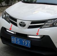 High quality LED Daytime running lights front Fog lamp Fog Lights For 2014 Toyota RAV4