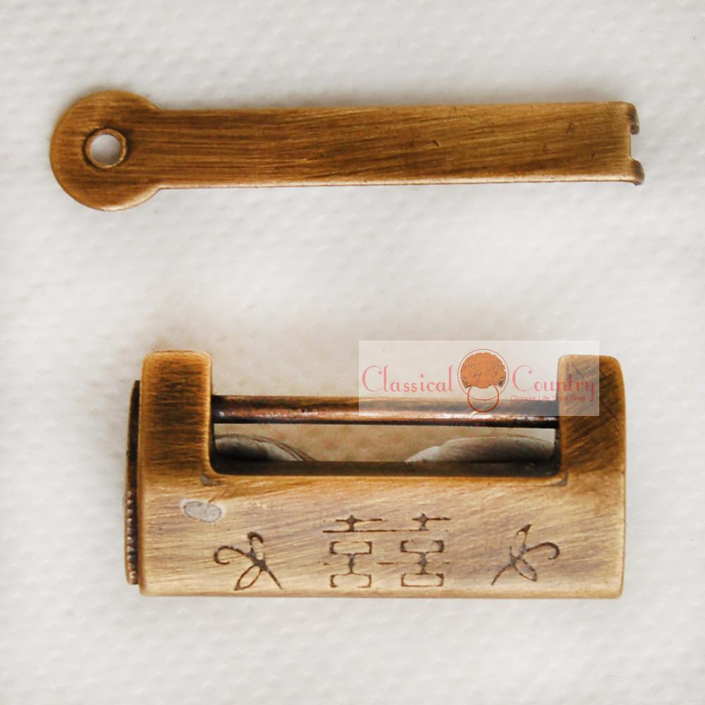 Chinese jewelry box lock