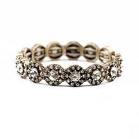 Fashion  Vintage Elastic Flower All-match Bracelet  2014