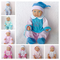 Artificial doll clothing for16inch toy cloth doll accessories doll clothes