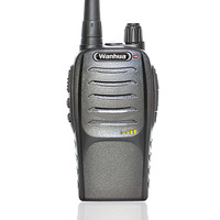 Handheld FM Walkie-talkie K6 with 16 Channels/Voice Prompt ,Low Battery Alert,TOT,Scan Function,Energy Saving Automatically