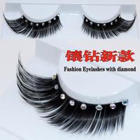 The bride wedding dress style diamond false eyelashes xz020
