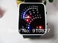 Christmas Gift Students Sport Led Watch Fashion Led Wristwatch For Man or Lady free shipping wholesale 300pcs