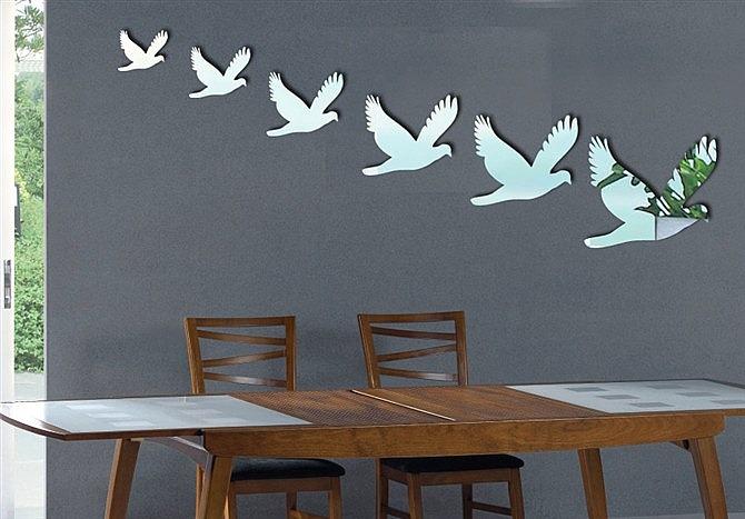 Animated Birds Flying in The Sky Flying Birds in The Sky Art