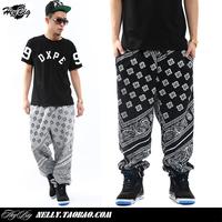 La rhude bandana ktz west coast flowers cashew hip-hop casual pants casual pants trousers