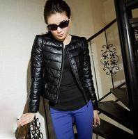 2013 winter new spring women genuine leather sheepskin down jacket puffer short coat brand black outerwear jackets coats xxxl