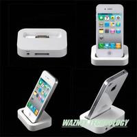 450pcs/lot*wholesale high qualityThe base USB desktop charger for iphone4 4S 3G 3GS