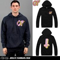 Odd future donuts golf wang men's clothing sweatshirt male