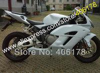 Free shipping,CBR1000RR Fairing kit for HONDA CBR1000 04 05 CBR 1000RR 2004 2005 CBR 1000 ABS All White (Injection molding)