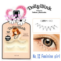 5 koji dolly wink false eyelashes no . 12 under eyelash 12