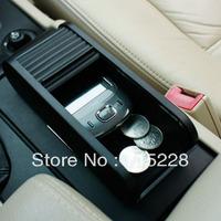 Choula multifunctional car glove box instrument storage box table car with lid storage box
