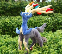 New Coming Pokemon XY Plush Toys Xerneas  50cm Big Size With Tags New Fashion Cartoon Plush Toys Movies & TV High Guality