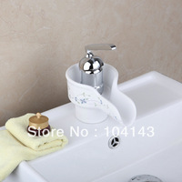Elegant design ceramic cartridge One Hole brass and ceramic finish Faucet bathroom Sink Mixer Tap 92685