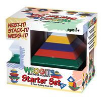 Wedgits toy building blocks magicaf pyramid cd
