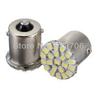 Free Shipping 10pcs Car Auto 1156 BA15S P21W 1073 1206 22 SMD LED Tail Stop Turn Light Lamp Bulb 12V
