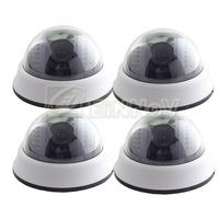 Free Shipping DHL 4pcs White CMOS 800TVL Camera 22 IR Leds Wide Angle CCTV Surveillance Video S04HW