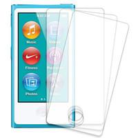 3pcs/lot HD Clear LCD Screen Protector Guard Shield Flim for Apple iPod Nano 7 7th Gen