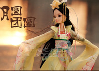 kurhn doll the goddess of the moon fairy body joints with real eyelashes fairy with ancient costume clothes free shipping