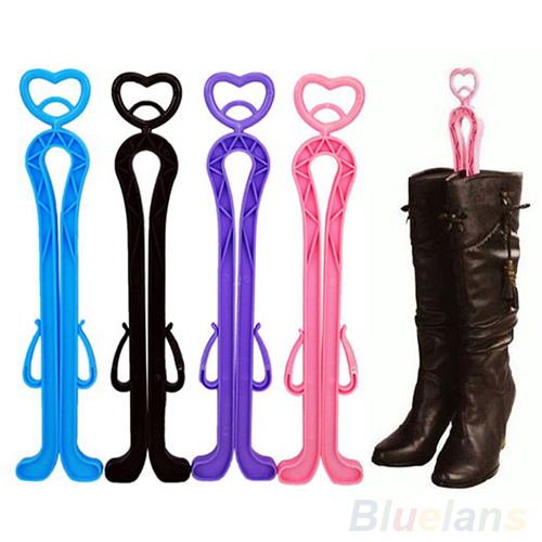 35cm Plastic Long Boots Shaper Stretcher Trees Supporter Shaft Keeper Holder Organizer Storage Hanger Accessories 1NGF(China (Mainland))