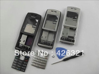 Hot Sales New Arrival Metal Whole Set Phone Housing For Nokia E50 with free shipping