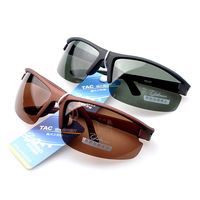 Men's Aluminum magnesium alloy polarized sunglasses driver mirror sunglasses Sport Mens Anti-glare Glasses