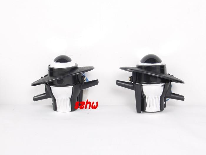 car bifocal fog lens front bumper light bifocal lens assembly for HONDA ACCORD CITY CIVIC CRV