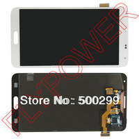 100% original For Samsung Galaxy Note 3 N9000 N9005 LCD Display + touch screen assembly White Without Frame