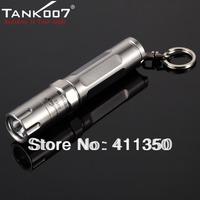 wholesale freeshipping 3 piece/lot Super Mini Tank007 ES12 CREE R3 120 Lumen LED Flashlight torch