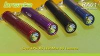 wholesale freeshipping 5 piece/lot  Super Mini bronte RA01 CREE R5 80 Lumen LED Flashlight torch random color