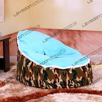 baby bean bag with 2pcs sky blue up covers baby seat cover baby bean bag chair baby bean bag bed FREE SHIPPING
