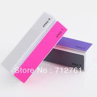 Nail tools: cloth four side nail polisher, polishing block polish nails,nail art tool supplies