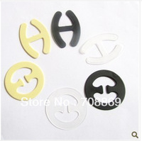 fast shipping! 20000pcs/lot! Manufacturers supply slip buckle Buckle UP chest buckle bra clasp oval ( transparent , black , colo