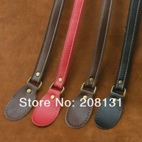 Free shipping high quality genuine leather bag handle,DIY real leather bag handles accessories strap handbag handle