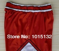 Chicago Basketball Shorts Black Red White Michael Jordan shorts Free shipping