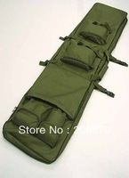 "40"" SWAT Dual Tactical Rifle Carrying Case Gun Bag OD free ship"