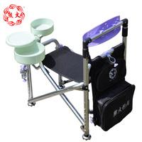 FREE SHIPPING Fishing tackle second generation fishing chair fishing chair stool multifunctional taiwan chair folding belt