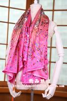 Magic kelly bag high quality silk slanting stripe scarf silk scarf cape