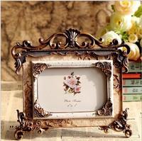 European-style palace Photo Frame Resin Photo Frame engraved border home decoration wedding decorative