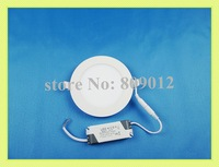 super thin round LED panel light lamp LED ceiling light 9W LED down light SMD2835 9W 45 led high brightness free shipping