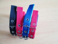 Pet collar dog collar iron wire buckle collar soft leather collar dog accessorie
